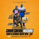 TRAP, MASHUP, URBAN MIX - AUGUST 3, 2019 - 100.1 THE BEAT - CROWD CONTROL MIX SHOW
