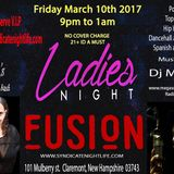 Dj Mega live at Club Fusion - Ladies Night/Miss Sara Birthday Bash party - 3-10-2017