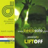 Tiësto Live @ Dutch Dimension Amsterdam (02-02-2002) Part 1