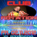 DonMarc pres Techno, Trance and Hardtrance Classics - Warmup 4 DJ O'BRIANS CLUBROTATION 02-11-2012
