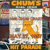 SUNDAY MORNING OLDIES SHOW 2007 - ROGER ASHBY - 1957 - 1050 CHUM CHART SHOW