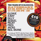 X-RAY Live @ NIOldSkools RAVEHEART Queens Belfast