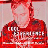 "Sergio Martínez presents ""Cool Experience""- NUBE MUSIC Radio - Dj session - October 10, 2018."