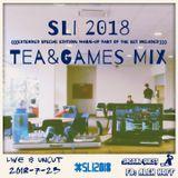 SLI 2018 Tea&Games Live Set Mix with DJ Alina aka Alex Koff