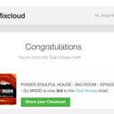 POWER SOULFUL HOUSE - BIG ROOM - EPISODIO - DJ MADD