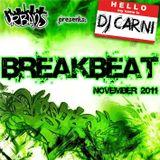 Breakbeat dj-set - November 2011