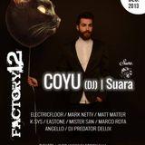 Matt Matter live act 31-12-13 @ Factory12 with COYU