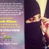 Exclusive interview of Model Actress sataesh khan  at Funnypaki Web Radio
