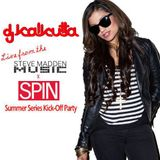 Live from the SPIN Magazine x Steve Madden Summer Series Kick-Off Party  (5/10/2012)