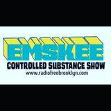 DJ EMSKEE CONTROLLED SUBSTANCE SHOW #117 ON RADIOFREEBROOKLYN.ORG (NU ELECTRO DISCO) - 1/9/19