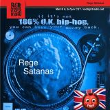 "REGE SATANAS 355 ""UK Rap Old Chap"" @ Red Light Radio 03-06-2019"