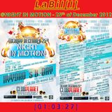 LaBil[l]: Live@NIGHT IN MOTION - Mönchengladbach (25. December 2012)