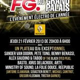 Sander van Doorn - Live @ Grand Palais, Paris, France (21.02.2013)