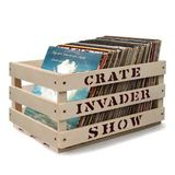 THE CRATE INVADER SHOW #52 -  JAZZ SESSION/NEW FUNK 45's/COLEMINE/COLDBUSTED/UK & GERMAN LIBRARY