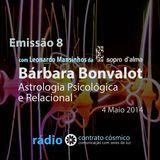 Emissão 8 - Bárbara Bonvalot sobre Astrologia Psicológica e Relacional // Rádio Contrato Cósmico