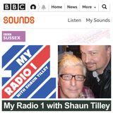 MY RADIO 1 : SHAUN TILLEY WITH DJ SIMON BATES