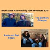Brooklands Radio Mainly Folk November 2019
