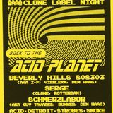 Serge - @ BackToTheAcidPlanet (Clone Label Night - TrouwAmsterdam - 15-5-2014)