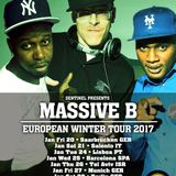 Sentinel Sound pres. Massive B [New York City] European Winter Tour 2017