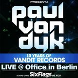 Paul van Dyk – Live at Beatport Office (Berlin) – 26.09.2012