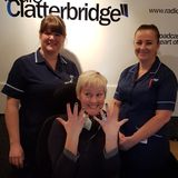 Marie Bosworth tells patients and staff at Clatterbridge Hospital how to prevent infections