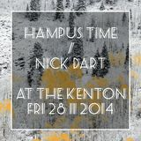 Hampus Time & Nick Dart - Cafe Flesh November 2014