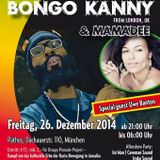 BONGO KANNY - LIVE  - MUNICH GERMANY - Dec 2014