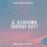 Bridge Guy live at Disco Kiez auf dem Dach (17.03.17) @ Klunkerkranich Berlin