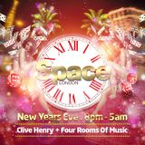 Space London NYE 2017/18 mix by DJ Midas Touch