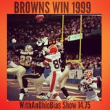 WithAnOhioBias Show 14.75 Browns vs Saints Tailgate