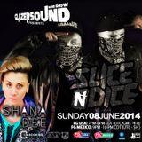 Glazersound Radio Show Episode #41 Special Guest Slice N Dice__Shana Dee