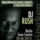 Adwarf @ Lucky Records B-Day with DJ Rush, Basta Sava Centra, 28.06.2013.