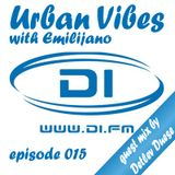 Emilijano - Urban Vibes 015 [DI.FM] guest mix by Detlev Duese
