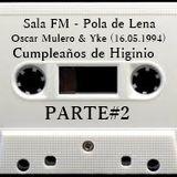 Oscar Mulero & Yke - Live @ Sala FM, Pola de Lena, Cumpleaños de Higinio (16.05.1994) parte#2