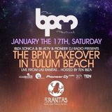 Stacey Pullen - Live At The BPM Takeover, Las Ranitas (The BPM Festival 2015, Mexico)- 17-Jan-2015