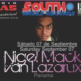 Matt Wyat live @ Pinamar Line Up 07/09/2013 warming Up for Nigel Mack Van Lazarux (PANAMA)