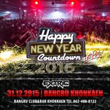 COUNTDOWN PARTY BANGRU KHONKAEN 31/12/2015 (EXTRIC)