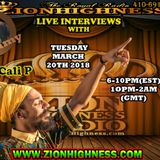 CALI P LIVE INTERVIEW WITH DJ JAMMY ON ZIONHIGHNESS RADIO 032018