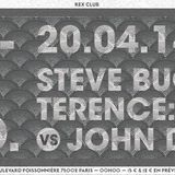Wonderland Rex Club 20.04.14 Warm up of Terence :Terry: vs John Dimas