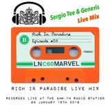 DJ Generis & Sergio Tee - Rich in Paradise live mixed at AMW.FM = Amsterdam Most Wanted