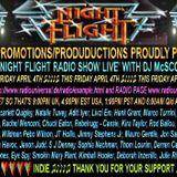 The Nightflight Radio Show from 4th April 2014 with DJ McScotty aka Steve Perz