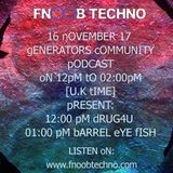 Drug4u Generators Community  4th Podcast on Fnoob Radio.