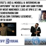 The Heavystorm Show The Best Of Vol 23 W/ J.Red And Wendell B. Special Guest
