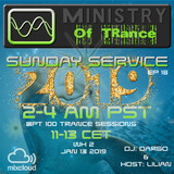 Uplifting Trance - Ministry of TRance Sunday service EP18 WK02 Jan13 2019