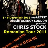 myArtist Music London presents: Chris Stock @ Romanian Tour 2011
