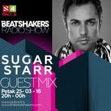 The Beatshakers Radio Show  – Guest Mix by Sugarstarr