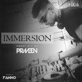 IMMERSION 006 - Guest Mix by Praveen