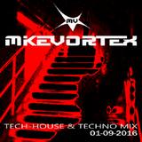MIKE VORTEX Tech-House & Techno Mix 01/09/2016