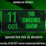 The Sweenee Show - Special live mix Dj Absolute