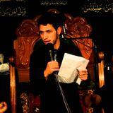 الرادود محمد زهير البلادي يوم وفاة ام البنين مضيف العباس - تسجيل علي خضير 1437